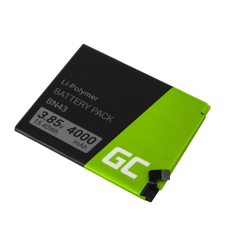 Battery BN43 for Xiaomi Redmi Note 4X - Green Cell