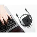Kabel Przewód Green Cell USB-C do USB-C 3.1 z obsługą Power Delivery (100W), 10 Gbps, Wsparcie 4K, 1m