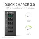 Universal Ladegerät Green Cell ® mit Schnellladefunktion, 5 USB-Anschlüsse, QC 3.0