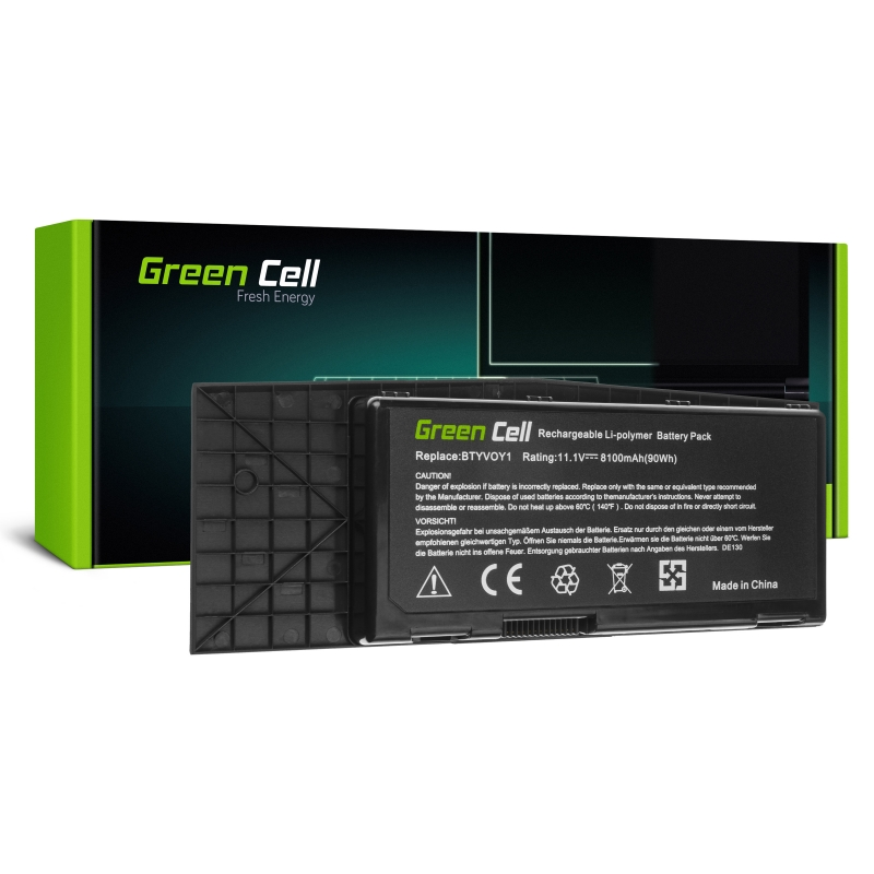 Green Cell Battery BTYVOY1 for Dell Alienware M17x R3 M17x R4