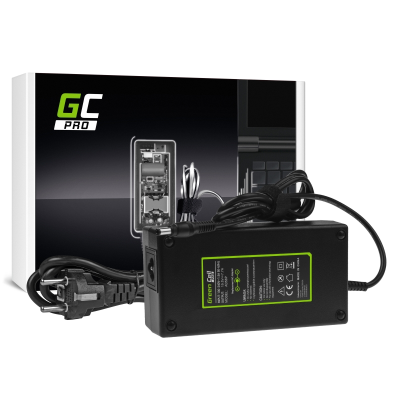Charger / AC Adapter Green Cell PRO 19.5V 7.7A 150W for Asus G550 G551 G73 N751 MSI GE60 GE62 GE70 GP60 GP70 GS70 PE60 PE70 WS60