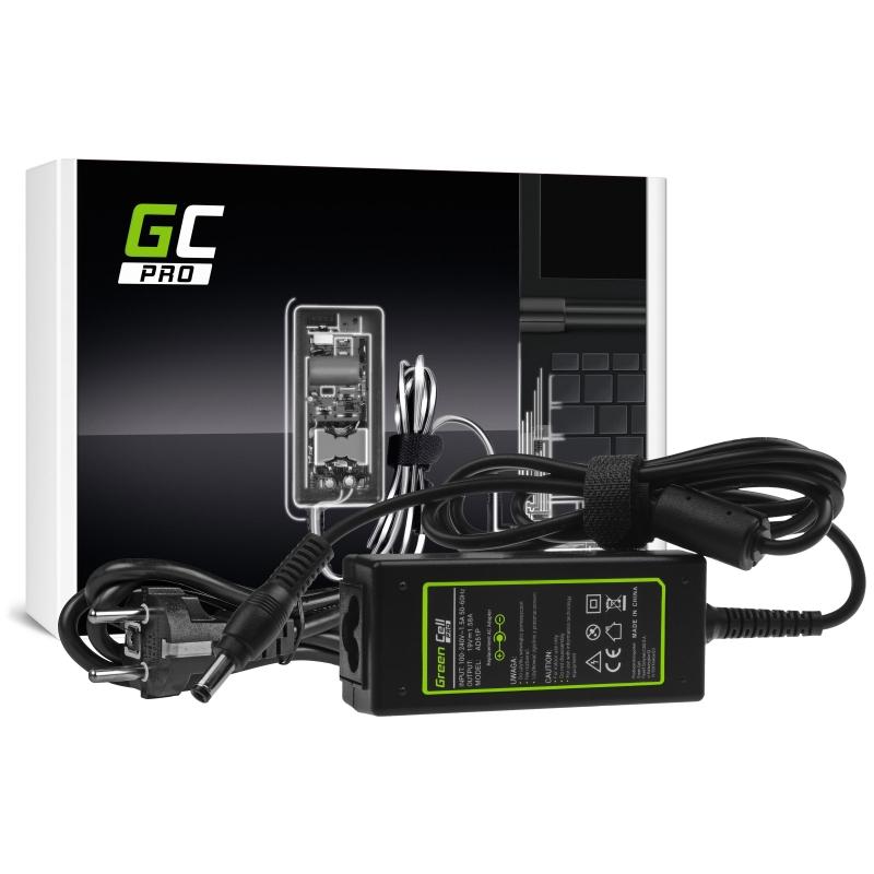 Charger / AC Adapter Green Cell PRO 19V 1.58A 30W for HP Toshiba Mini NB200 NB250 NB255 NB300 NB305 NB500