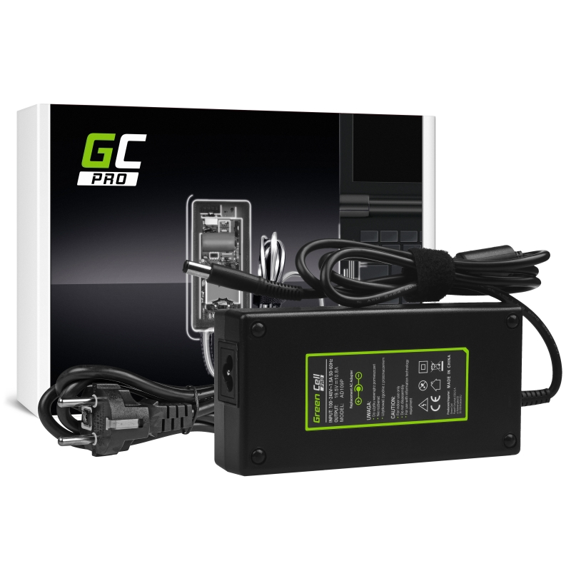 Charger / AC Adapter Green Cell PRO 19.5V 10.8A 210W for Dell Precision M4600 M4700 M6600 M6700 Dell Alienware 17 M17x