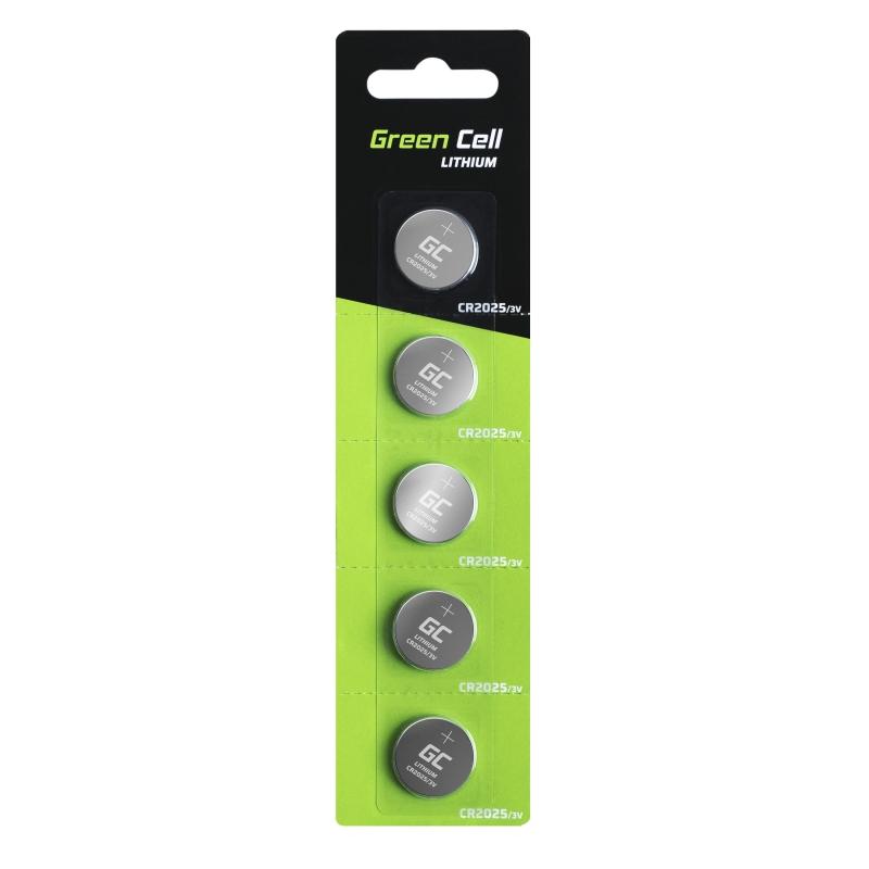 Bateria litowa Green Cell CR2025 3V 160mAh