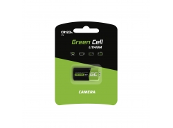 Green Cell CR123A Lithium battery 3V 1400mAh