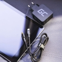 Kabel Green Cell Stream USB-C - Lightning 100cm mit Power-Delivery-Unterstützung (Apple MFi Certified)