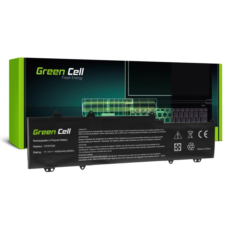 Green Cell Laptop Akku C31N1330 für Asus ZenBook UX32L UX32LA UX32LN
