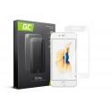 Szkło hartowane Green Cell GC Clarity do telefonu Apple iPhone 6 6S - Biały