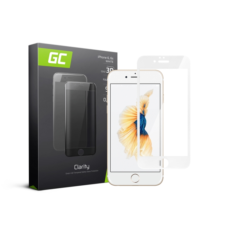 GC Clarity Screen Protector for iPhone 6 6S - White