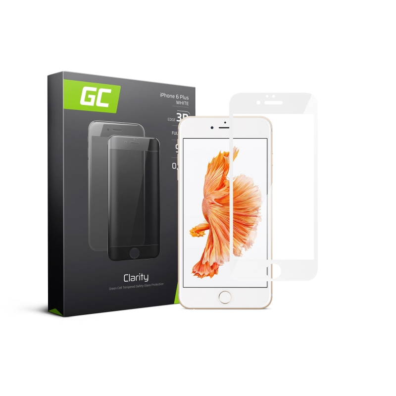 GC Clarity Screen Protector for iPhone 7 8  - Black