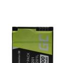 Green Cell ® Digitalkameras Akku für GoPro HD Hero 3 AHDBT-201 AHDBT-301