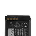 Green Cell ® Battery LP-E10 for Canon EOS Rebel T3, T5, T6, Kiss X50, Kiss X70, EOS 1100D, EOS 1200D, EOS 1300D 7.4V 950mAh