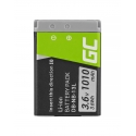 Green Cell ® Battery NB-13L for Canon PowerShot G5 X, G7 X, G7 X Mark II, G9 X, SX620 HS, SX720 HS, SX730 HS 3.6V 1010mAh