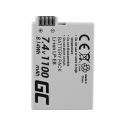 Green Cell ® Battery LP-E8 for Canon EOS Rebel T2i, T3i, T4i, T5i, EOS 600D, 550D, 650D, 700D, Kiss X5, X4, X6 7.4V 1100mAh