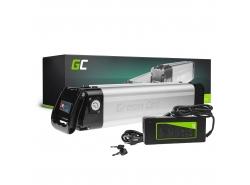 Green Cell® Bateria  do Roweru Elektrycznego E-Bike Li-Ion Silverfish z Ładowarką