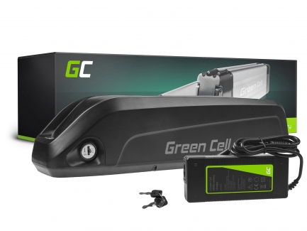 E-Bike Akku 36V 15Ah Li-Ion Elektrofahrrad Down Tube Batterie mit Ladegerät