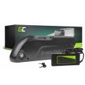 Green Cell® E-Bike Akku 48V 12Ah Li-Ion Pedelec Down Tube Elektrofahrrad Batterie mit Ladegerät