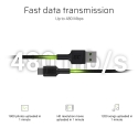 Green Cell GC PowerStream USB-A - USB-C cable 200 cm