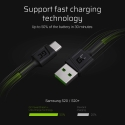 Green Quick Charge 3.0, Samsung AFC, Huawei FCP, Apple 2.4A, Mediatek Pump Express 1.1/2.0, USB DCP
