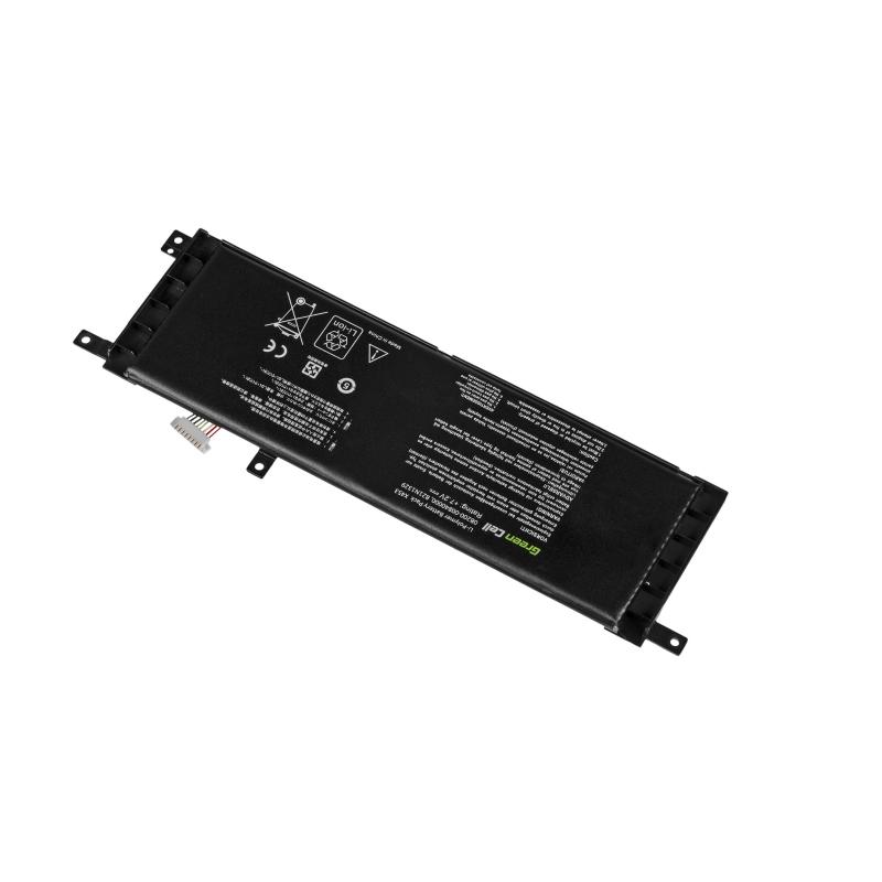 Green Cell/® PRO Serie A32-K55 Batteria per Portatile ASUS F55 F55A F55C F75 F75A F75V F75VB F75VC F75VD R704 R704A R704V R704VB R704VC R704VD Le Pile Originali Samsung SDI, 6 Pile, 5200mAh, Nero