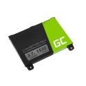Battery Green Cell ® 170-1012-00 DR-A011 for Amazon Kindle 2 II DX, E-book reader 1530mAh