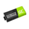 Akku 533-000116 Green Cell für Lautsprecher MEGABOOM S-00147 UE Ultimate Ears, 3400mAh