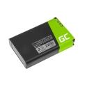 Battery 361-00053-00 Green Cell for GPS Garmin Alpha 100 handheld Montana 600 600T 650 Camo 650 650T Monterra, 2200mAh