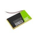 Akku IA2B309C4B32 Green Cell für GPS Garmin Nuvi 300 310 350 360 360T 370 Navgear Streetmate GP-43, 1250mAh