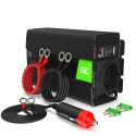 Green Cell® Car Power Inverter Converter 24V to 230V 300W/600W Pure sine
