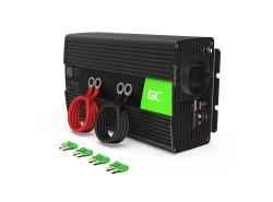 Przetwornica napięcia Inwerter Green Cell® 12V na 230V 1000W/2000W Modyfikowana sinusoida
