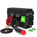 Green Cell® Car Power Inverter Converter 12V to 230V 500W/1000W Pure sine