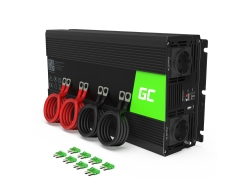 Green Cell® Car Power Inverter Converter 12V to 230V 2000W/4000W Pure sine