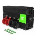 Green Cell® Car Power Inverter Converter 12V to 230V 2000W/4000W Pure sine