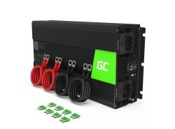 Green Cell® Car Power Inverter Converter 24V to 230V 3000W/6000W Pure sine