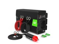 Green Cell® Car Power Inverter Converter 24V to 230V 500W/1000W Pure sine
