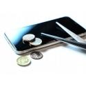 Szkło do telefonu iPhone 7 8 - Biały