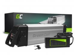 Green Cell® Bateria do Roweru Elektrycznego 24V 12Ah E-Bike Li-Ion Silverfish z Ładowarką