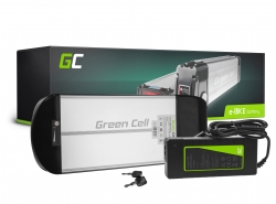 Green Cell® E-BIKE Battery 36V 10Ah Rear Rack with Li-Ion with Charger