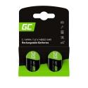Rechargeable batteries 2x