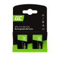 Batteries Rechargeable 2x