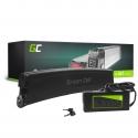 Accumulator Battery Green Cell Frame Battery 36V 7.8Ah 281Wh for Electric Bike E-Bike Pedelec