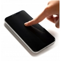 Tempered glass GC Clarity for Apple iPhone SE (2020) - black