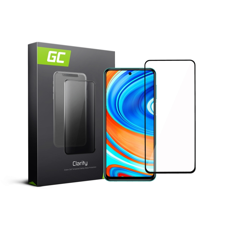 Tempered glass GC Clarity quick protection for Xiaomi Redmi Note 9 Pro