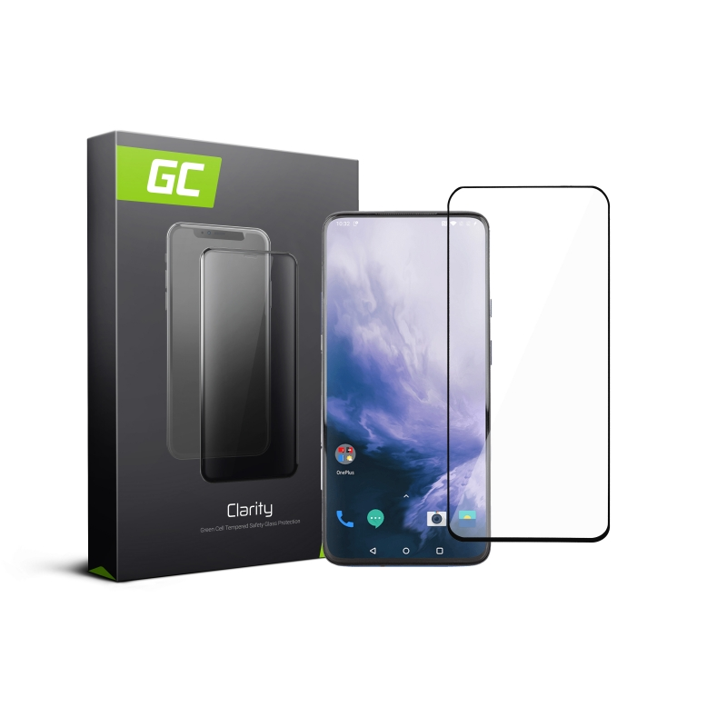 Screen Protector for OnePlus 7 Pro Tempered Glass GC Clarity 9H Military Grade Invisible Cover