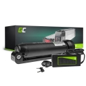 Green Cell® E-Bike Battery 24V 7.8Ah Li-Ion Bottle and Charger Electric Bicycle