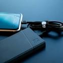 Zestaw 3x Kabel Green Cell GC Ray Lightning 200cm z białym podświetleniem LED, szybkie ładowanie Apple 2.4A