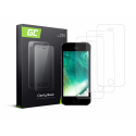 3x Screen Protector for iPhone 5 / 5S / 5C / SE Tempered Glass GC Clarity 9H
