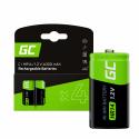 Green Cell Batteries 4x C R14 HR14 Ni-MH 1.2V 4000mAh