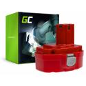 Bateria Akumulator 1822 1833 PA18 Green Cell do Makita 4334D 6343D 6347D 6349D 6390D 8390D 8391D