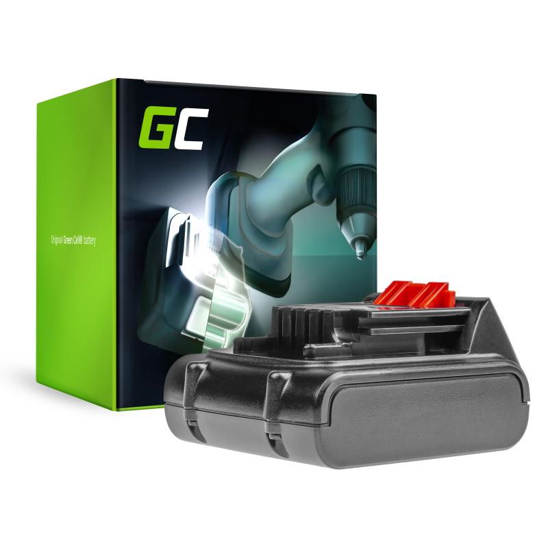 Green Cell ® Akku für Black & Decker BL1114 14.4V 2Ah
